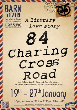 84 Charing Cross Road by Helene Hanff Poster