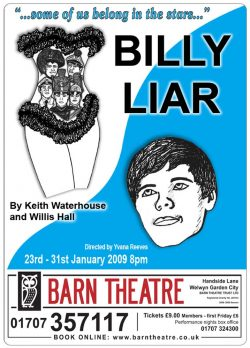 Billy Liar by Keith Waterhouse and Willis Hall - Poster