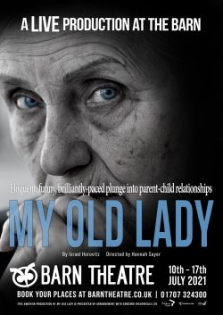 An image of the poster for My Old Lady