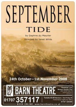 September Tide by Daphne du Maurier