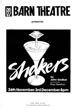 Shakers by John Godber - Programme Cover