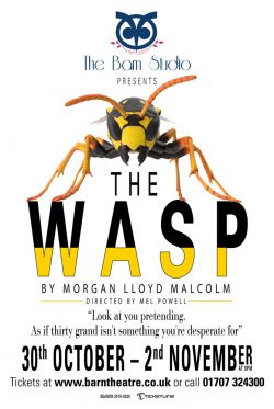 The Wasp by Morgan Lloyd Malcolm Poster